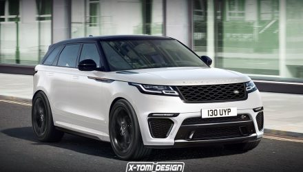 Range Rover Velar SVR & convertible envisioned, showroom potential?