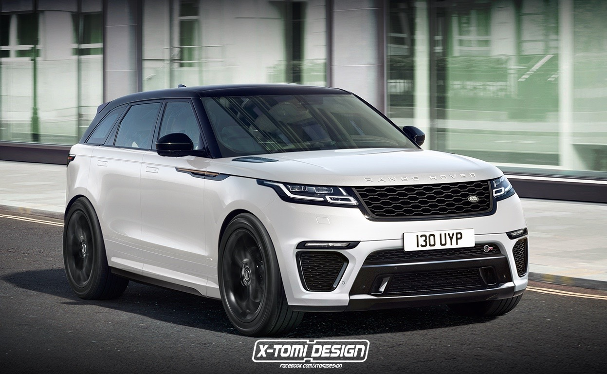 range rover velar svr convertible envisioned showroom potential performancedrive. Black Bedroom Furniture Sets. Home Design Ideas