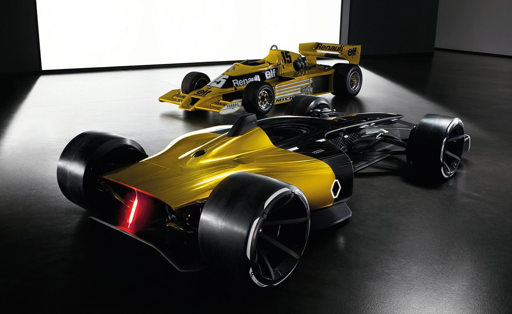 Renault RS envisions 2027 Formula One car | PerformanceDrive