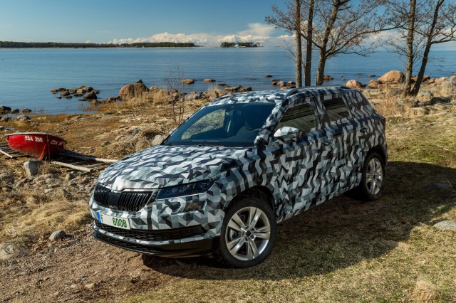 Skoda Karoq - Yeti replacement to debut on May 18