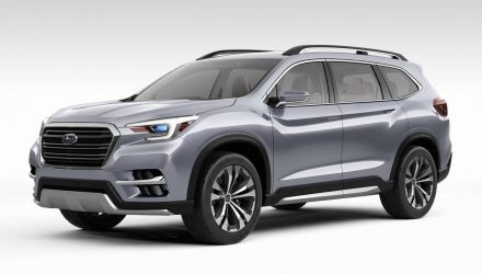 Subaru Ascent concept previews 7-seater for North America