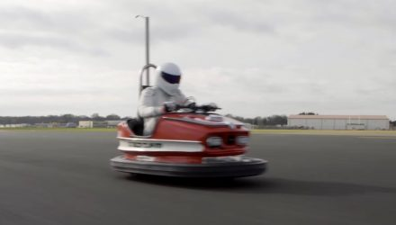 Top Gear's Stig drives dodgem car to world record speed (video)