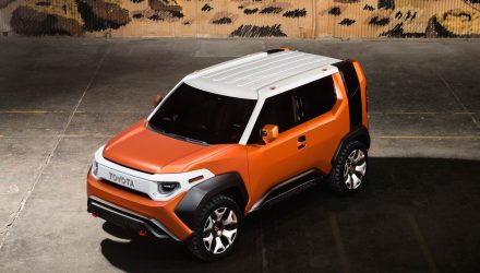 Toyota FT-4X unveiled at New York show, mini FJ Cruiser