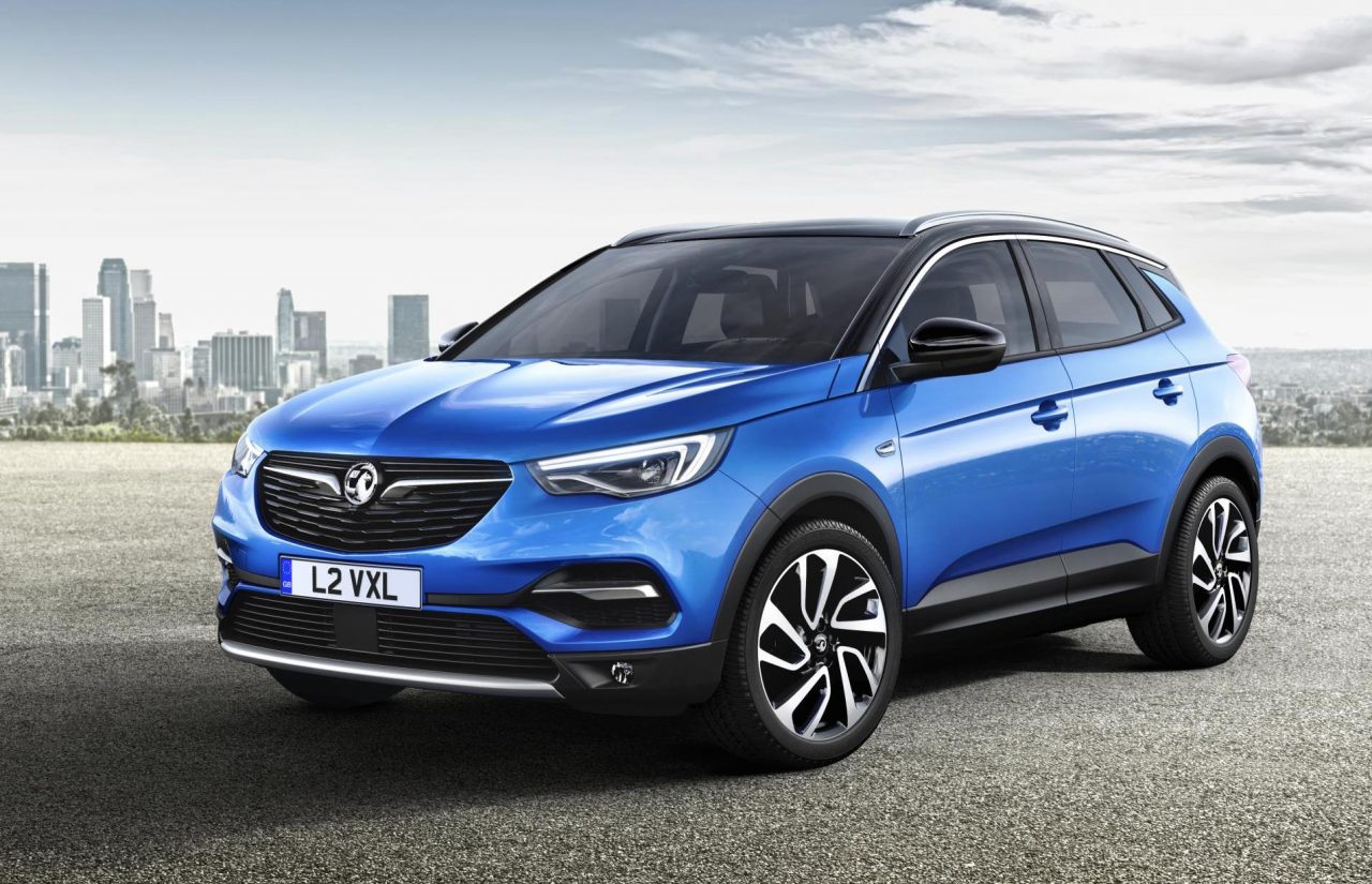 Vauxhall Grandland X revealed as GM's new mid-size SUV ...