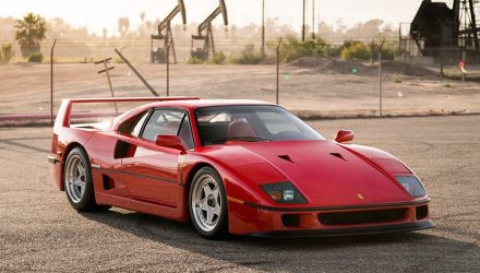 For Sale: 1992 Ferrari F40 with Tubi exhaust