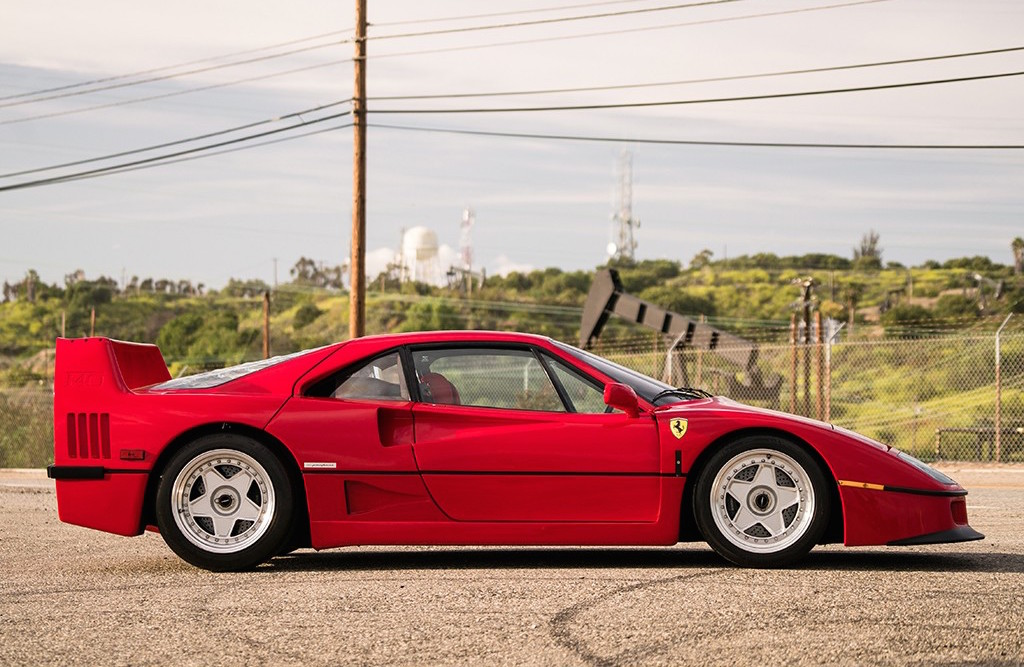 For Sale: 1992 Ferrari F40 with Tubi exhaust | PerformanceDrive
