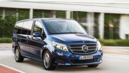 2017 Mercedes-Benz V 220 now on sale in Australia