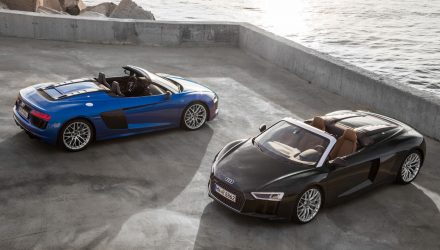 2017 Audi R8 Spyder now on sale in Australia from $388,500