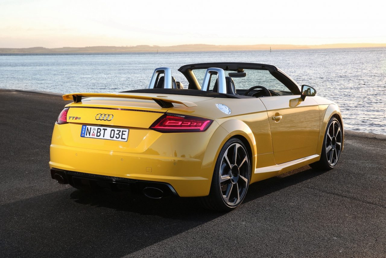 2017 audi tt rs now on sale in australia roadster added performancedrive. Black Bedroom Furniture Sets. Home Design Ideas