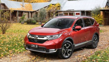 2017 Honda CR-V turbo on sale in Australia from $30,690