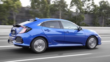 2017 Honda Civic hatch now on sale in Australia