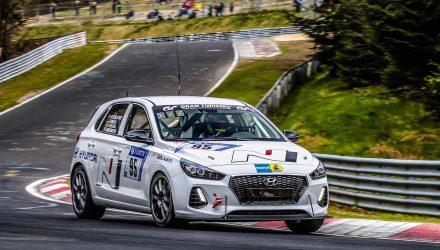 Near-production Hyundai i30 N prepares for Nurburgring 24hr