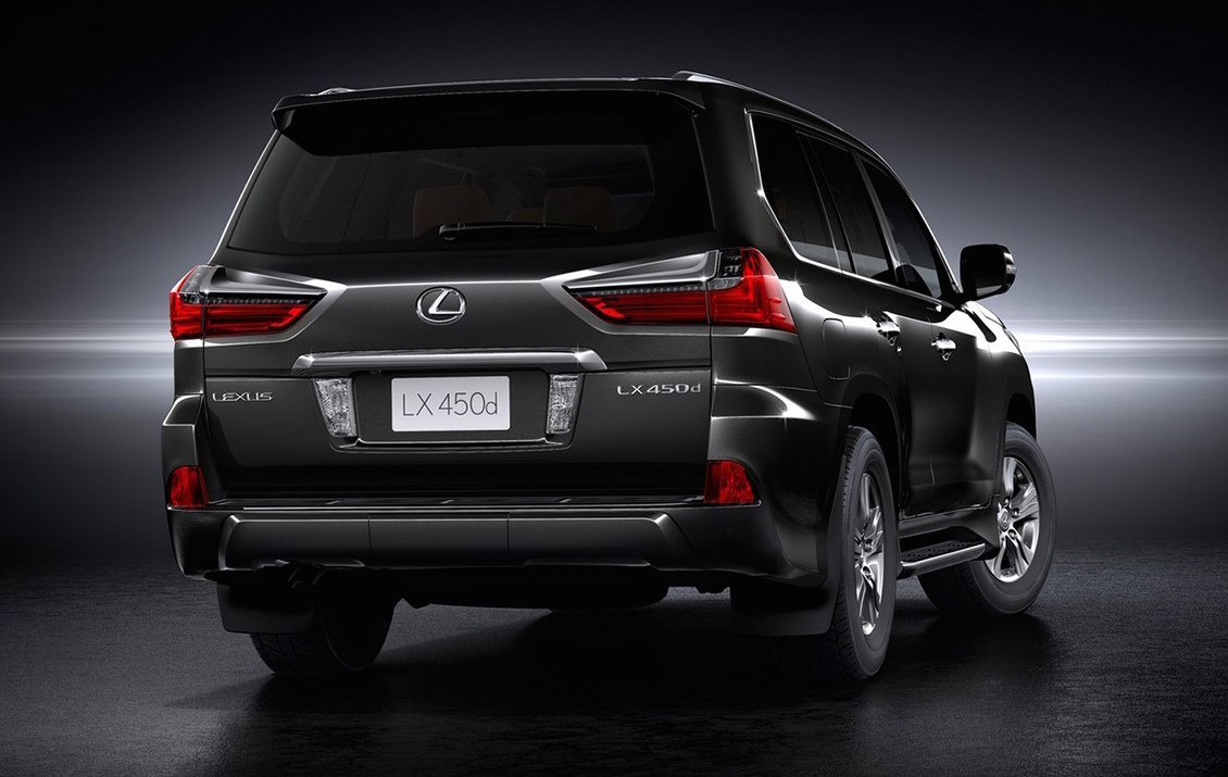 2017 lexus lx 450d announced for india performancedrive. Black Bedroom Furniture Sets. Home Design Ideas