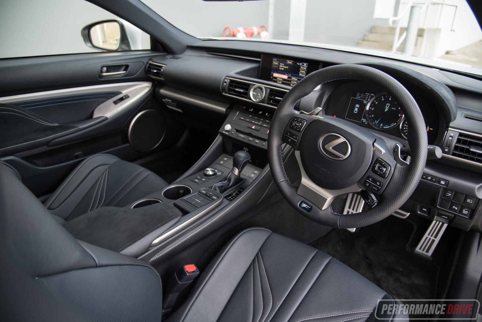 2017 Lexus RC F Interior