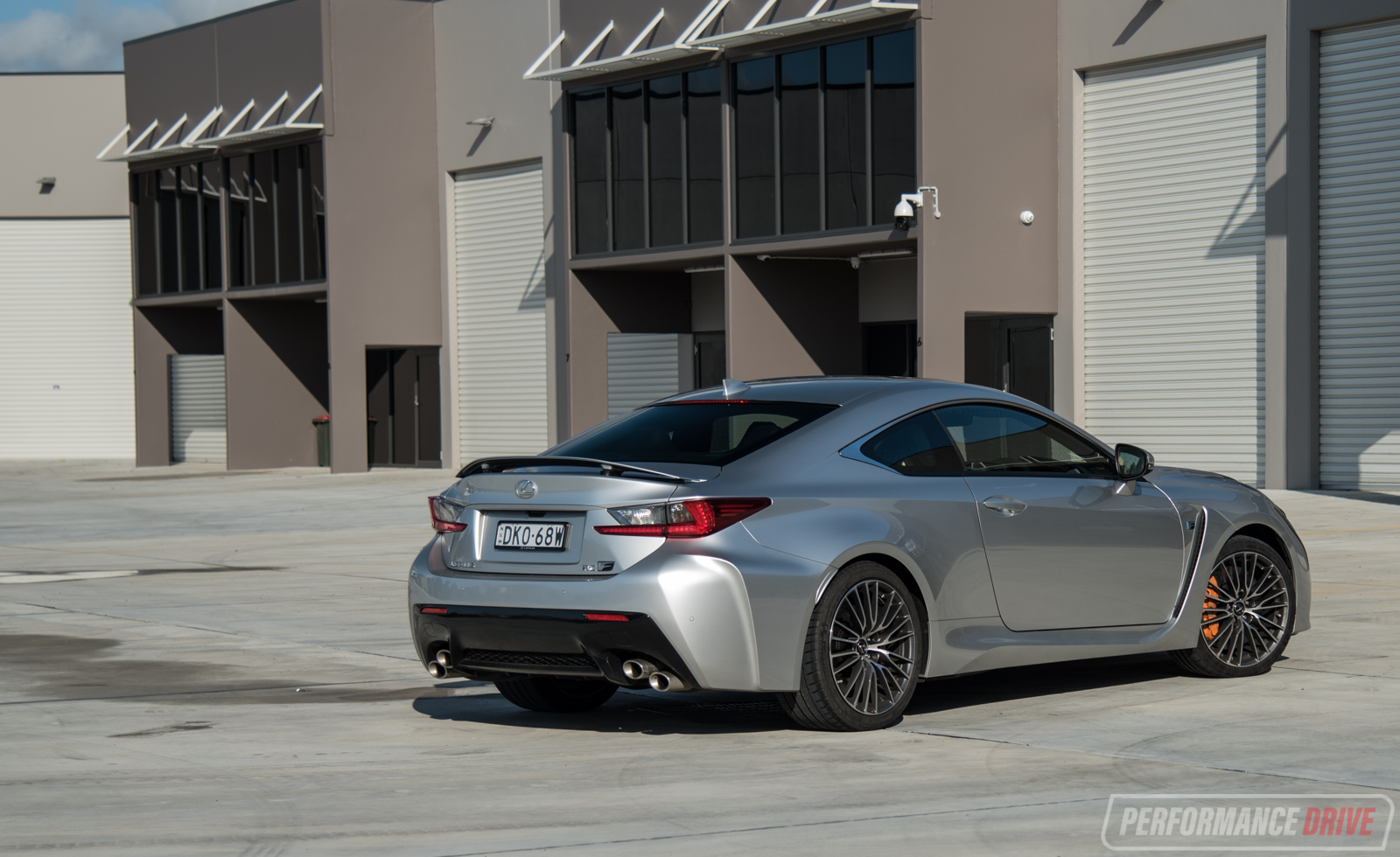 2017 Lexus Rc F Rear