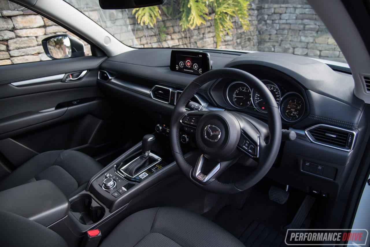 2017 Mazda CX 5 Sport Maxx Interior