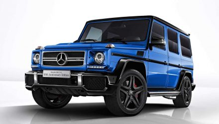 Mercedes-AMG G 63 50th anniversary edition announced for Japan