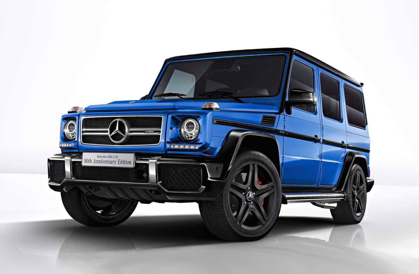 Mercedes amg g 63 50th anniversary edition announced for for Mercede benz amg