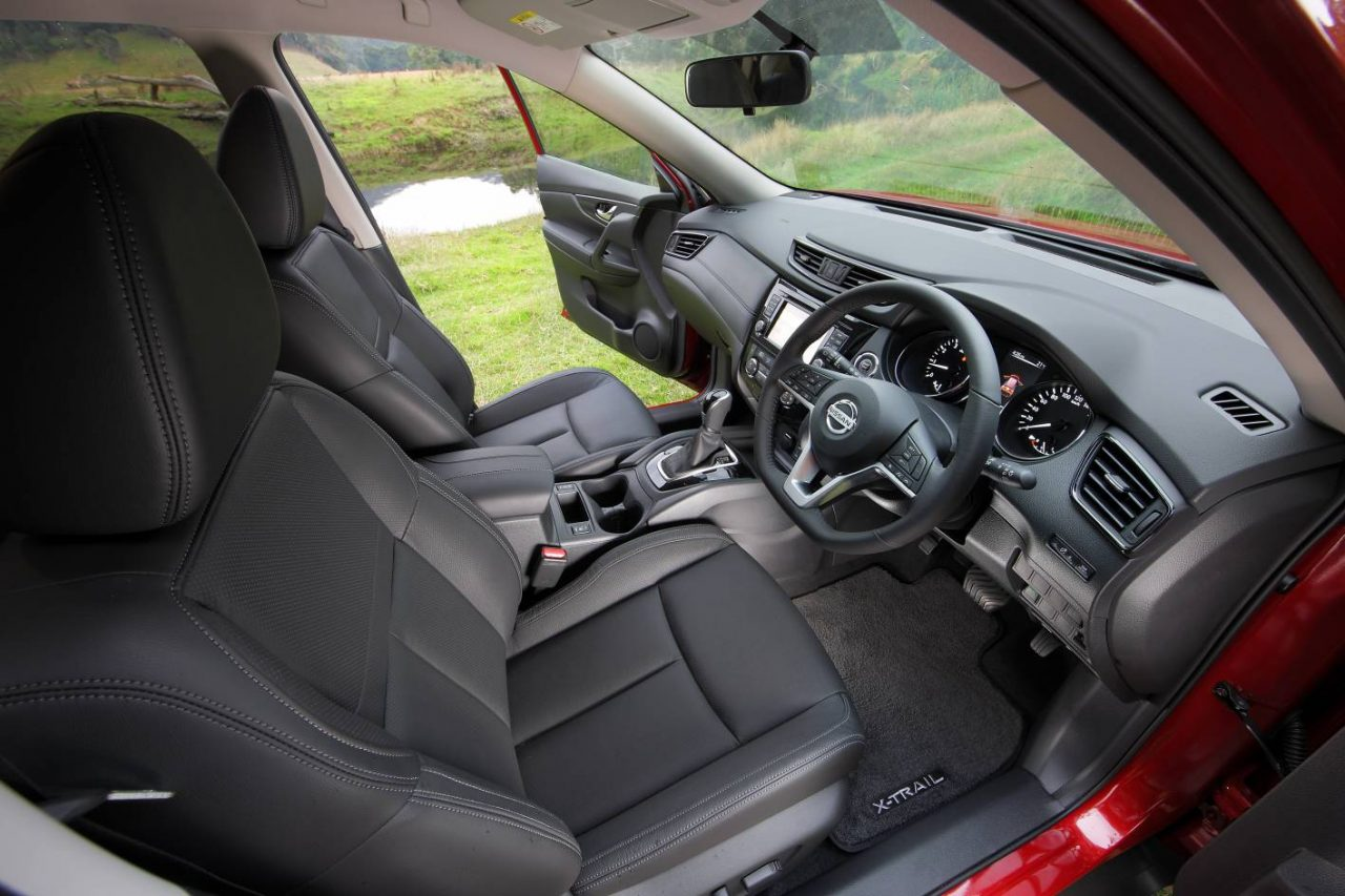2017 nissan x trail on sale in australia from 27 990 new for Nissan x trail interior