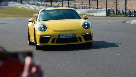 New Porsche 911 GT3 slashes 12sec from Nurburgring lap