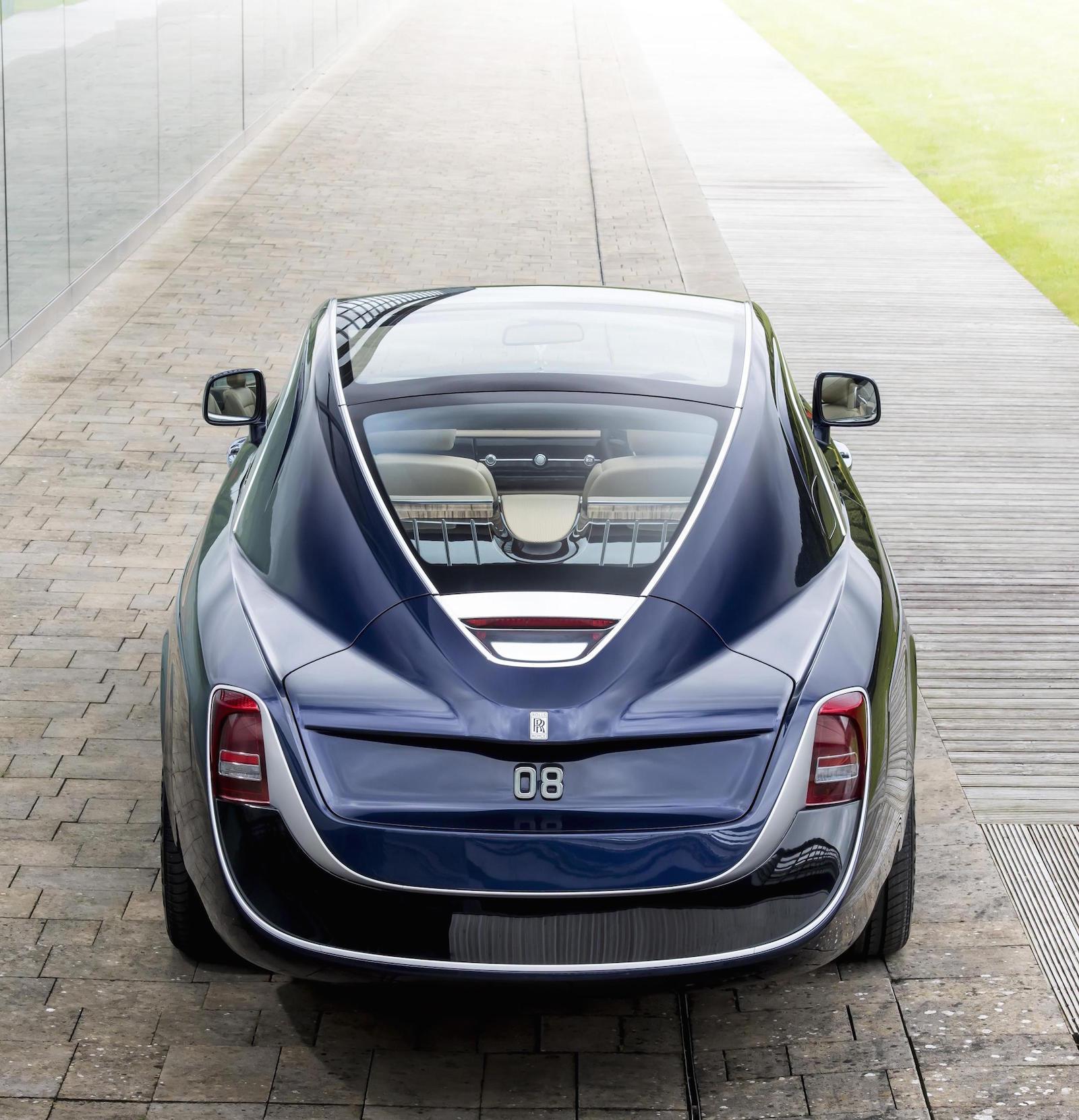 Rolls Royce Sweptail Debuts At Concorso D Eleganza