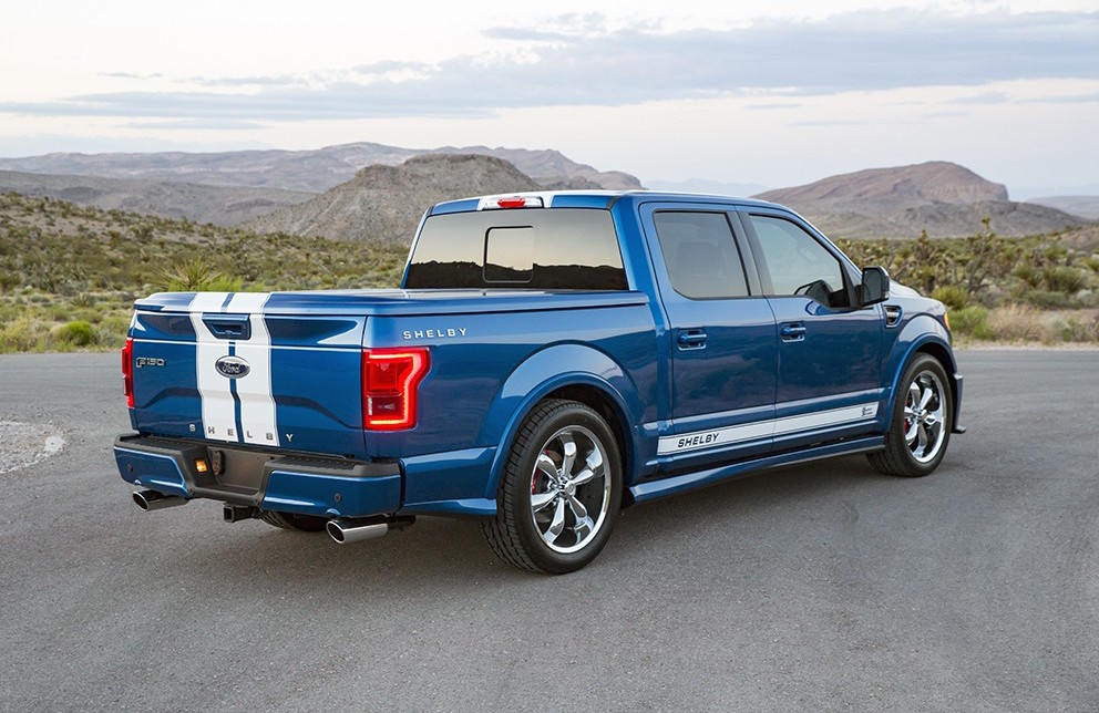 Ford F150 Shelby 2017 >> 2017 Shelby F-150 Super Snake announced | PerformanceDrive