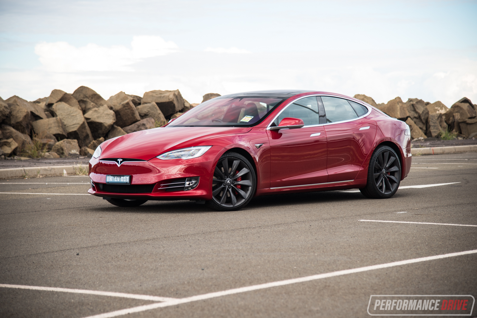 Simple 2017 Tesla Model S P100D POV Review  First Impressions