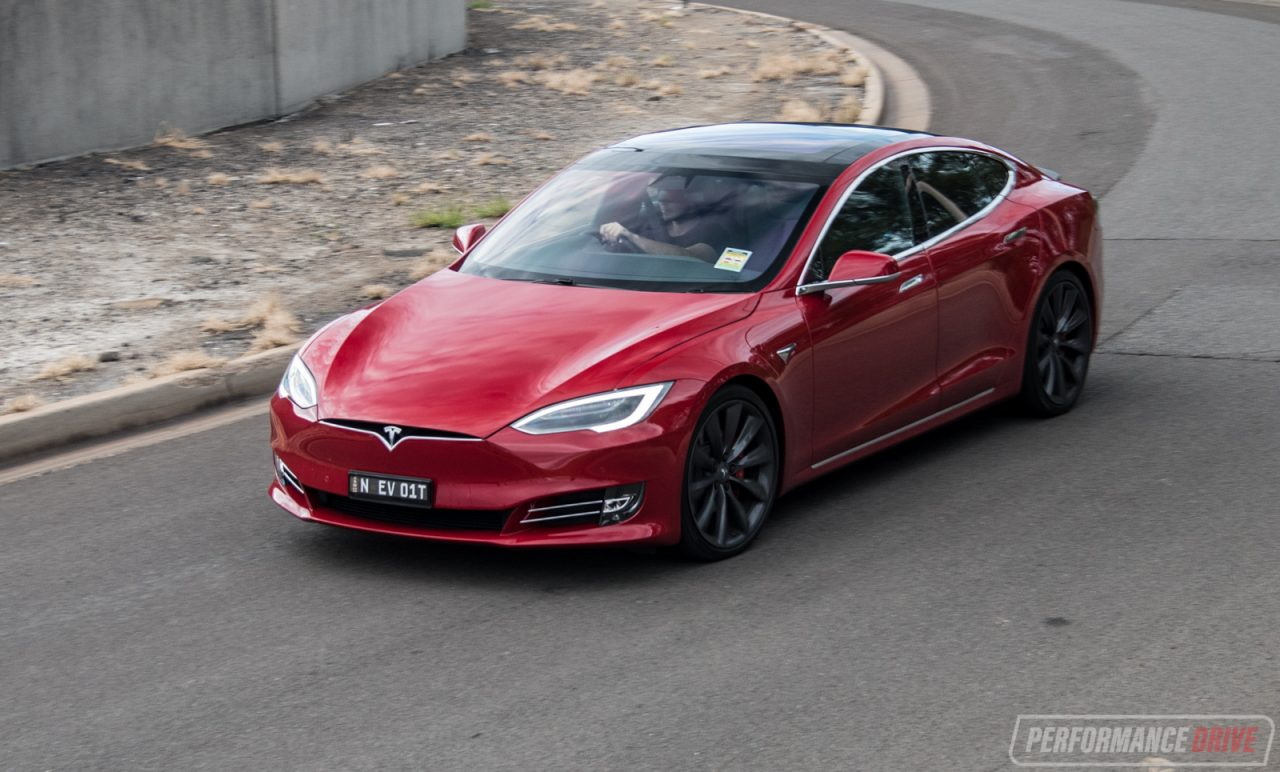 2017 tesla model s p100d review performancedrive. Black Bedroom Furniture Sets. Home Design Ideas