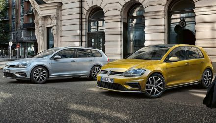 2017 Volkswagen Golf Mk7.5 Australian prices & features announced