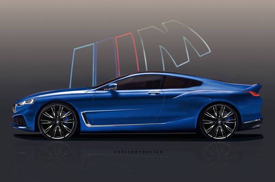 2018 Bmw 8 Series Rendered Based On Official Teaser Video Performancedrive