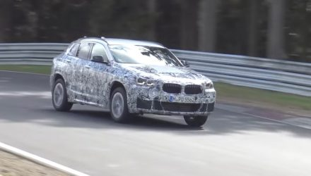 BMW X2 prototype spotted, previews new compact sporty SUV (video)