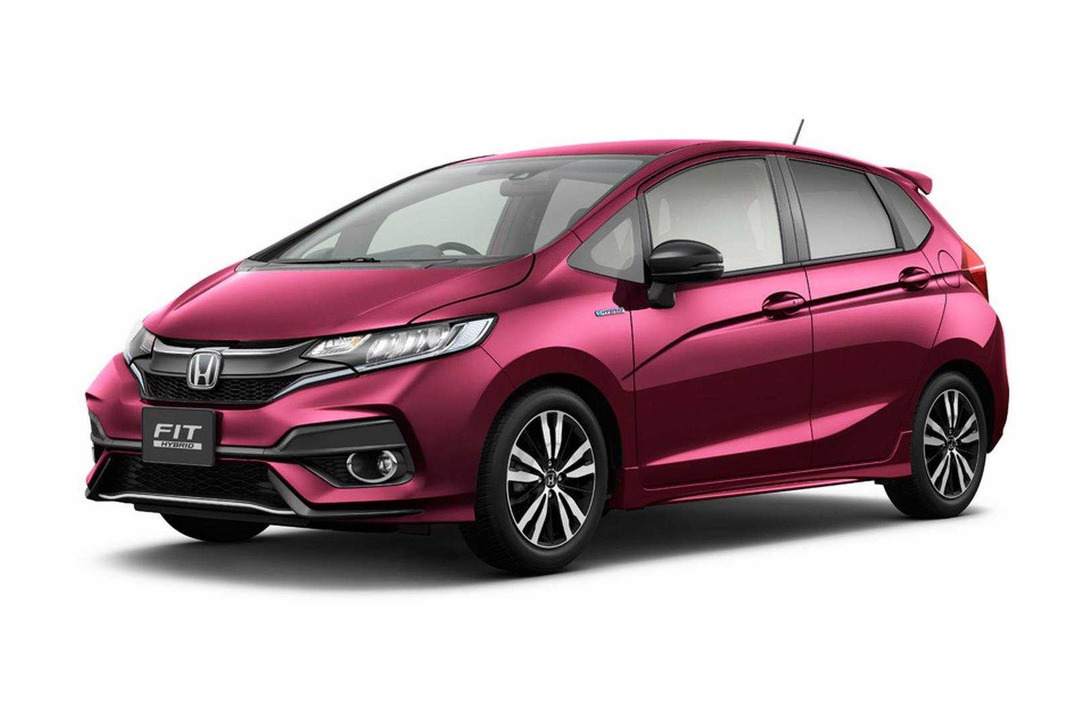 2017 honda fit jazz revealed in leaked images performancedrive. Black Bedroom Furniture Sets. Home Design Ideas