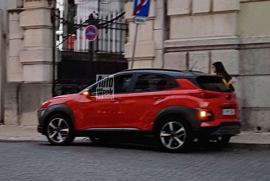 Hyundai Kona spotted, all-new design direction revealed ...