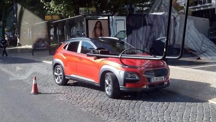 Hyundai Kona spotted, all-new design direction revealed