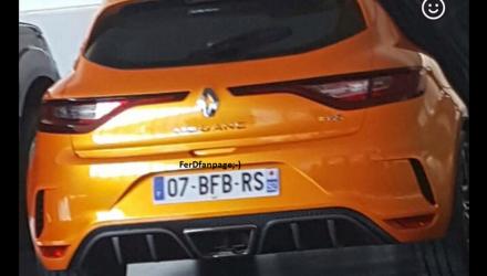 2018 Renault Megane R.S. leaks online