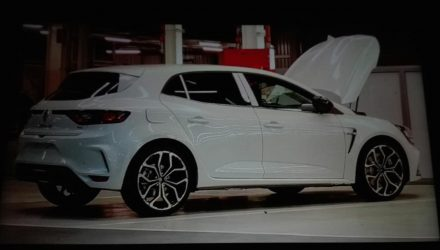 2018 Renault Megane R.S. leaks out some more