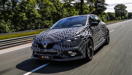 2018 Renault Megane R.S. manual & auto confirmed