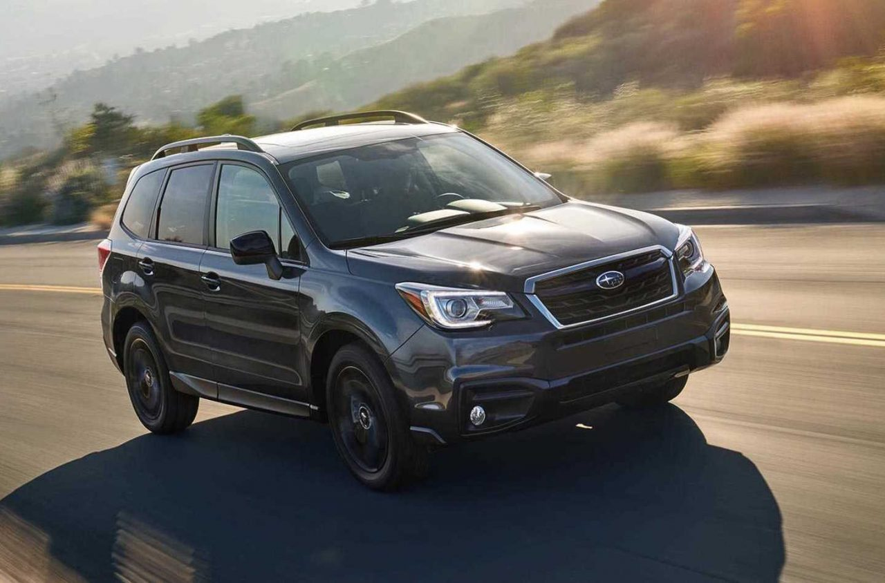 2018 Subaru Forester Black Edition announced in U.S ...