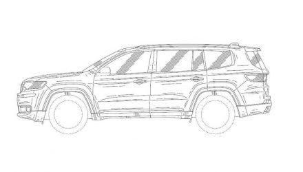 2019 Jeep Wagoneer patent images found, revealing new 7-seater design