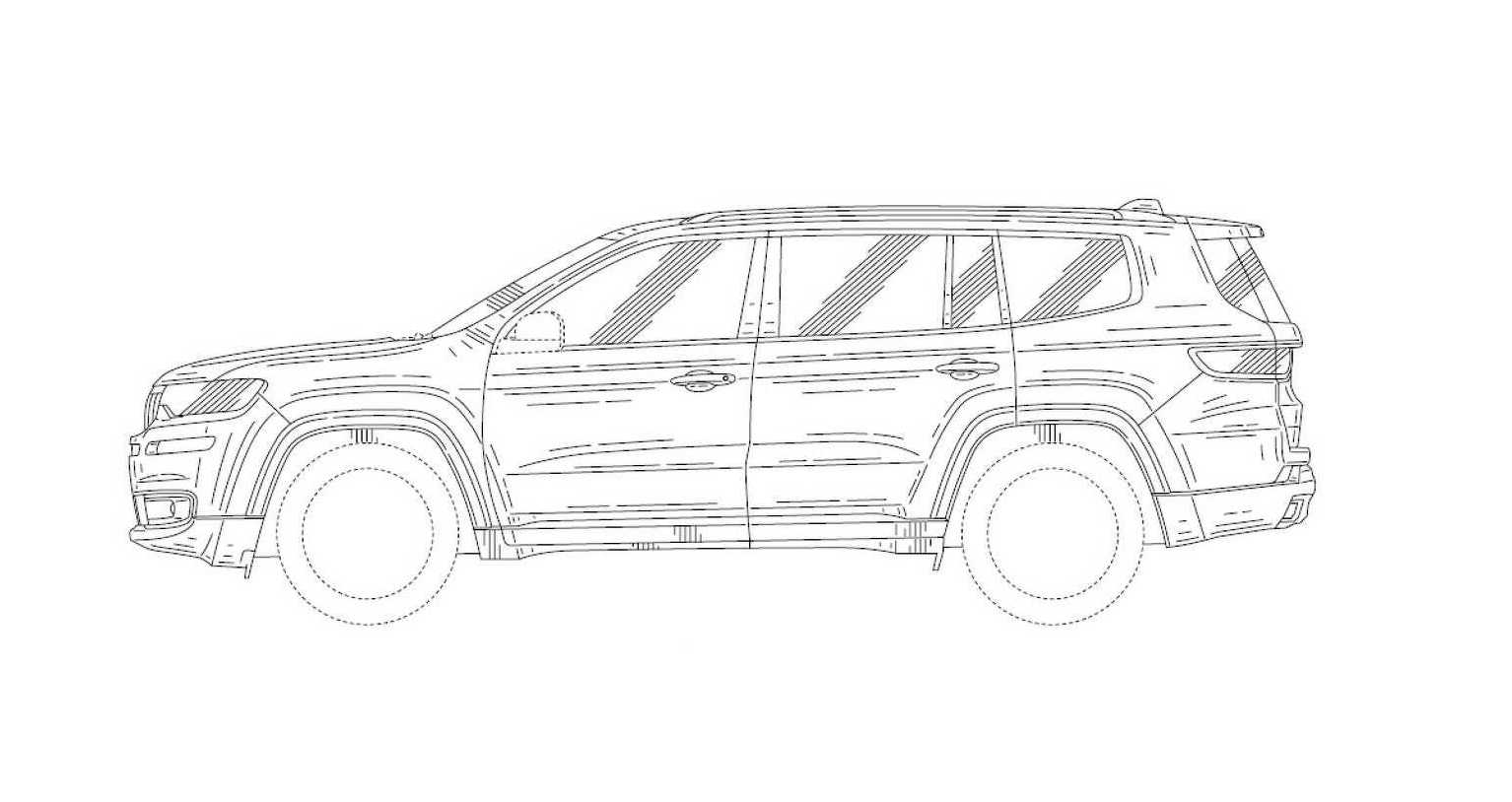 2019 jeep wagoneer patent images found  revealing new 7