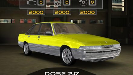New smartphone game includes Aussie classics; VL Calais Turbo, HSV GTSR W1