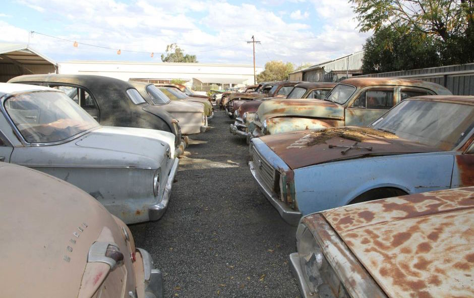 Cool Find: Huge car collection found in Alice Springs | PerformanceDrive