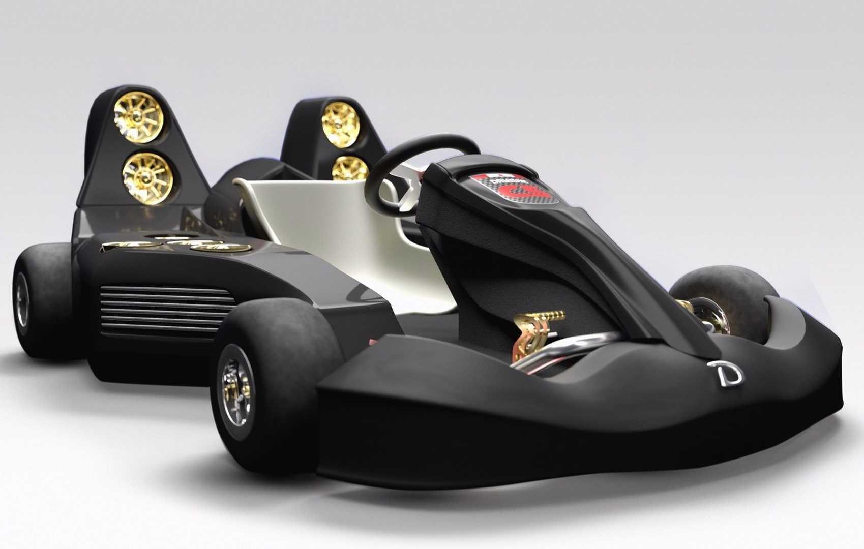 Insane Daymak C5 Blast electric go-kart does 0-100km/h in 1.5 ...