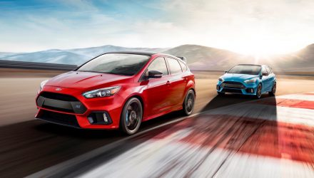 Ford Focus RS Option Pack announced, LSD for front axle (videos)