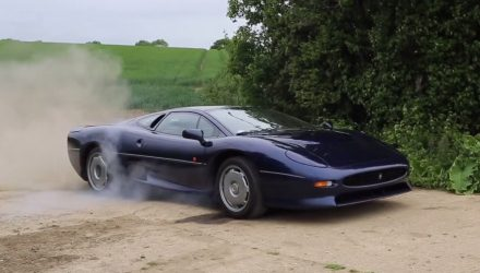 Remembering TaxTheRich's Jaguar XJ220 thrashing (video)