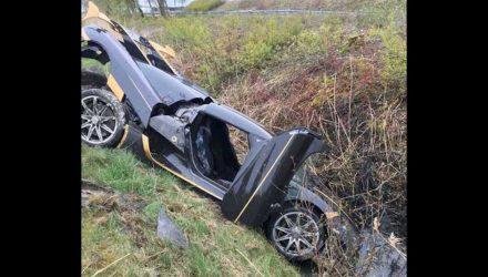 Koenigsegg crashes during testing in Sweden