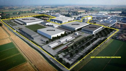 Lamborghini production facility expands further for Urus SUV