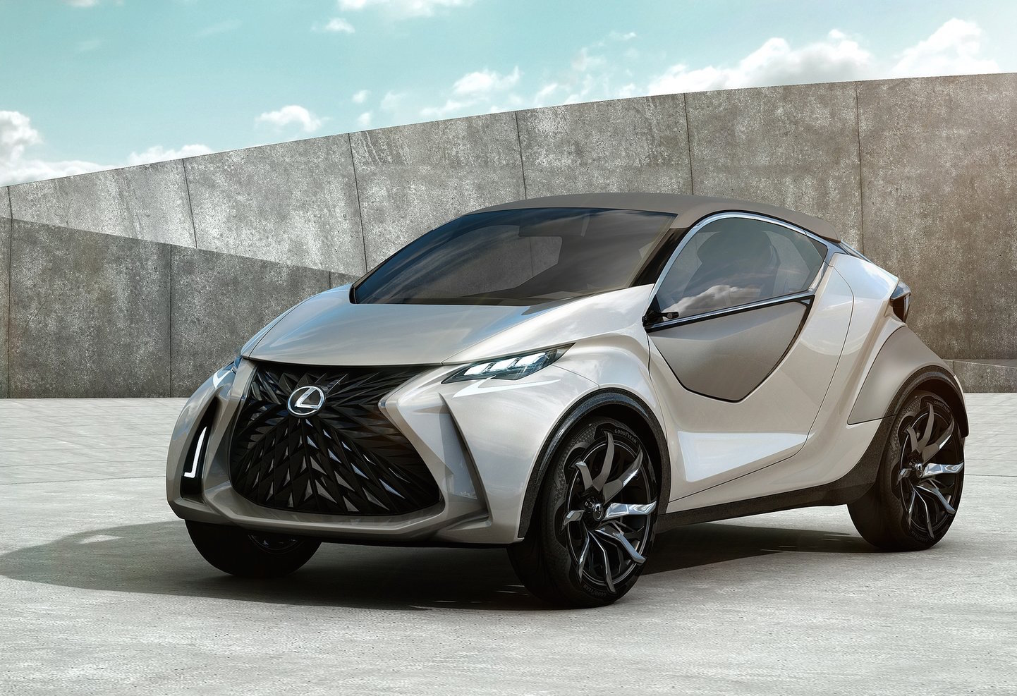 lexus planning new city car, inspiredlf-sa concept