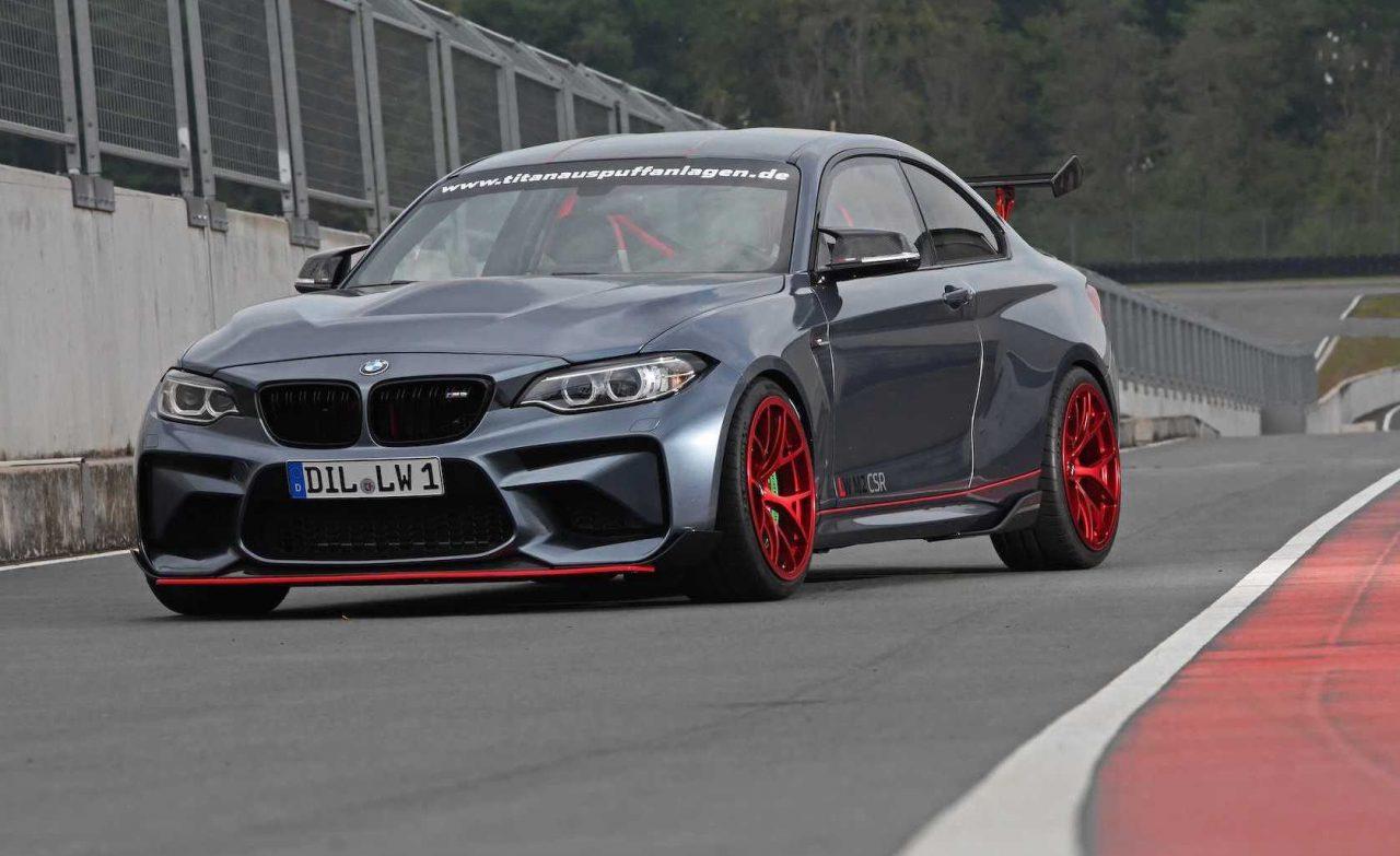 Bmw M2 Series >> Lightweight Performance creates BMW M2 'CSR' | PerformanceDrive