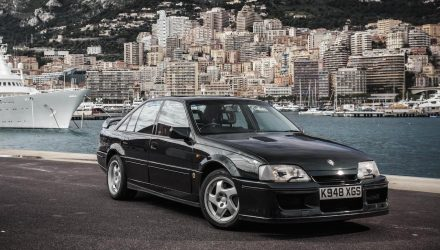 Lotus Carlton named most iconic performance Vauxhall ever